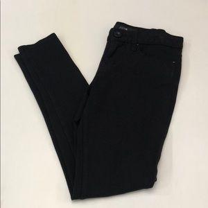 Joes Jeans skinny black point pant jeggings